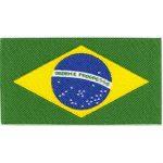 Aplicação bandeira do Brasil